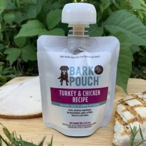 80-gram Turkey & Chicken Bark Pouch dog treats