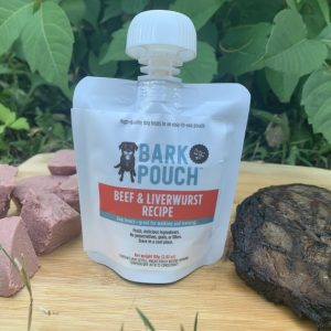 80-gram Bark Pouch dog treats